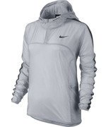 kurtka do biegania damska NIKE TRANSPARENT VAPOR JACKET / 644872-012